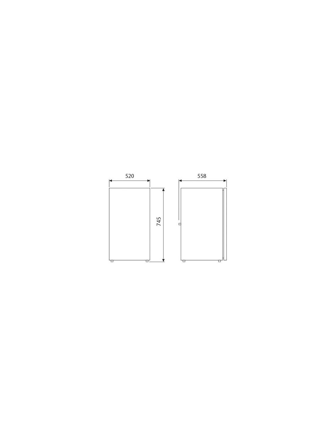 dimension standard frigo awesome nasza flota with dimension standard frigo cabinet vision f. Black Bedroom Furniture Sets. Home Design Ideas