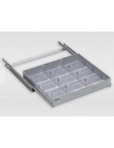 Cassetto con divisori per frigo serie VJT