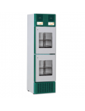 Frigorifero a doppia temperatura Wlab V41/2 Pharma 300 lt: display x 2