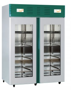 Frigorifero a doppia temperatura Wlab V251/2: display x 2