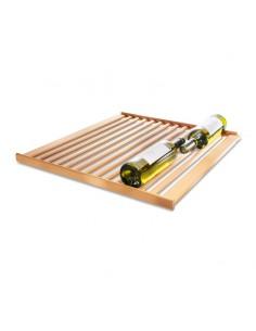 Mensola in legno per cantine vino Liebherr